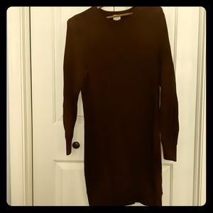 A New Day Maroon Sweater Dress